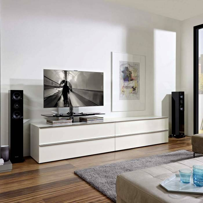 Тумба под телевизор в современном стиле: фото