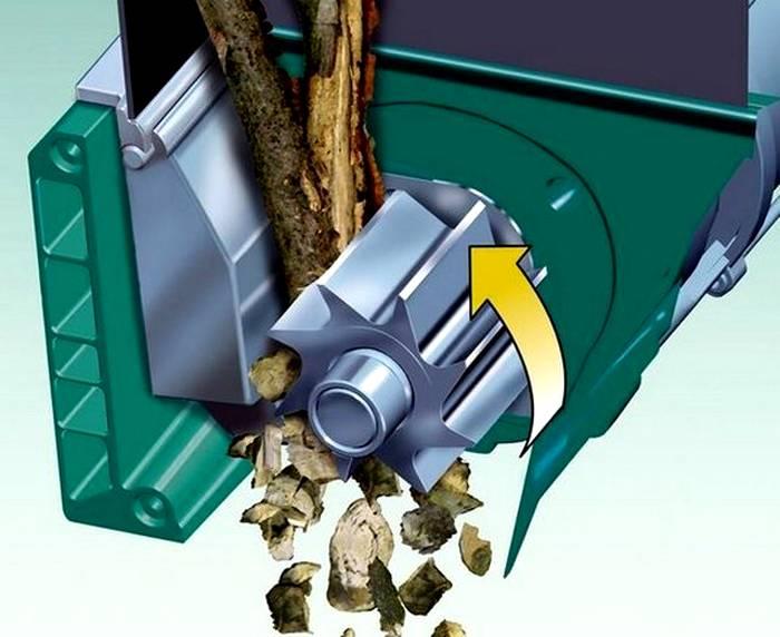 Фреза лучше приспособлена для дробления твердых отходов