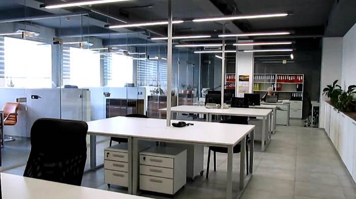 Второй вариант офисного помещения