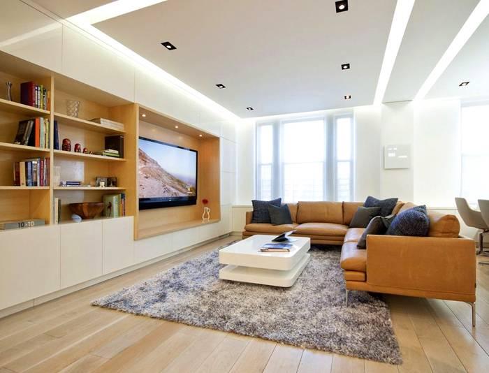 Корпусная мебель с нишей для телевизора