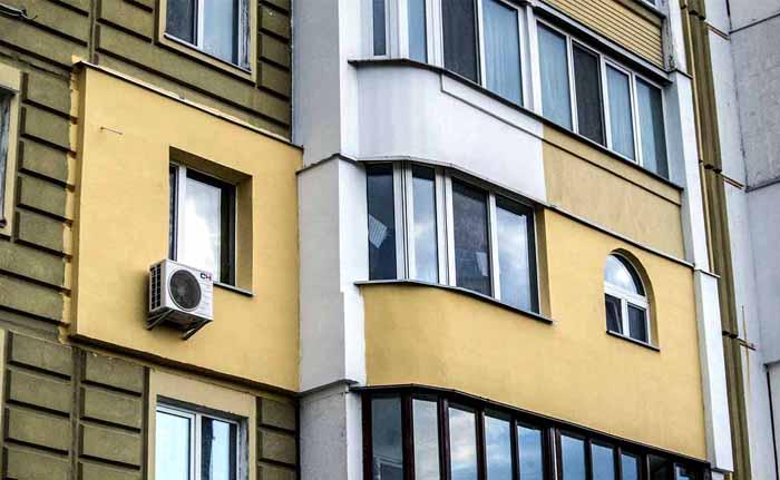 Разрешение можно получить, только если наружное утепление будет выполнено в том же стиле, что и фасад