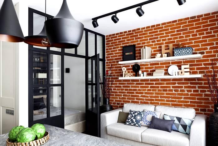 Идеальное сочетание с кирпичными стенами