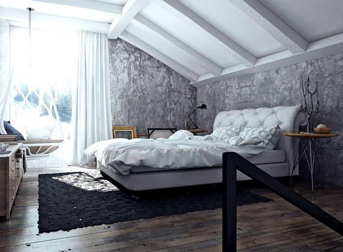 Спальня будет модной и уютной