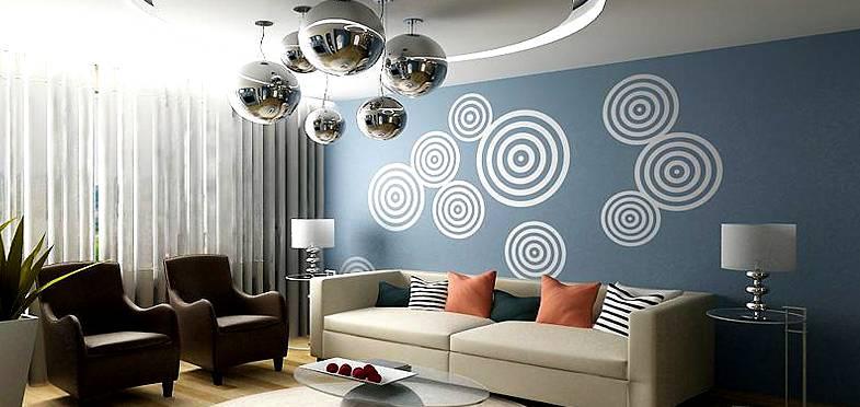 Уникальность комнаты после нанесения рисунка гарантирована