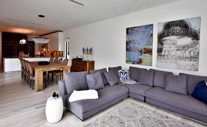 Кухня гостиная и столовая: дизайн интерьера, фото