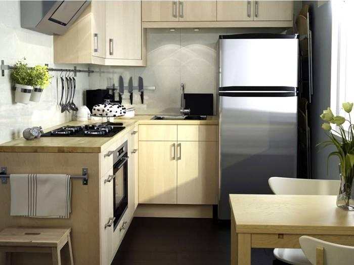 Современная кухня: дизайн для маленькой площади