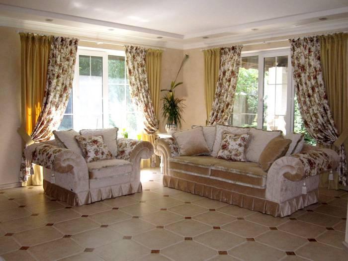Текстиль в стиле прованс позволяет создать уютную атмосферу