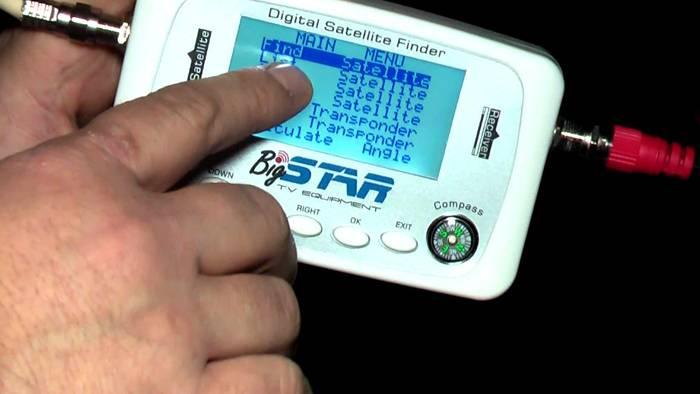 Прибор для проверки качества сигнала со спутника