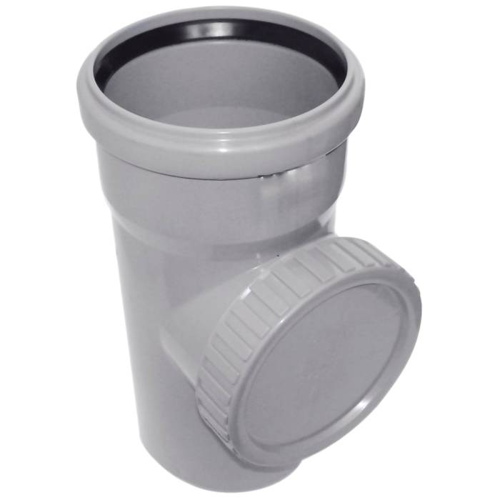 Без ревизии невозможно проводить очистку внутренней поверхности трубы