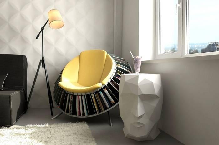 Мини мебель может быть довольно функциональным аксессуаром