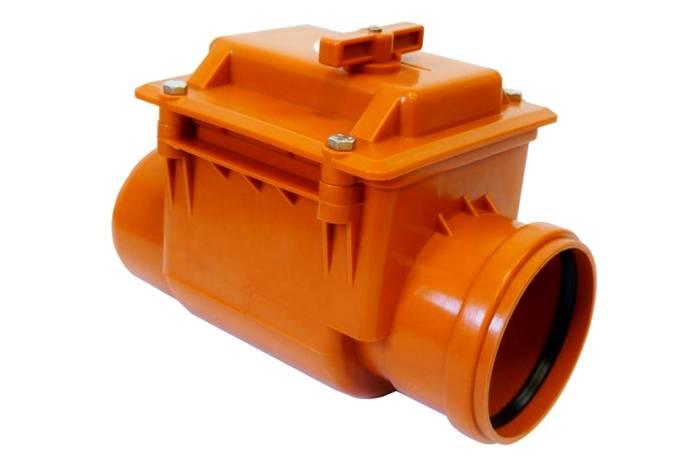 Элемент защиты от проникновения грязной воды обратно в трубы