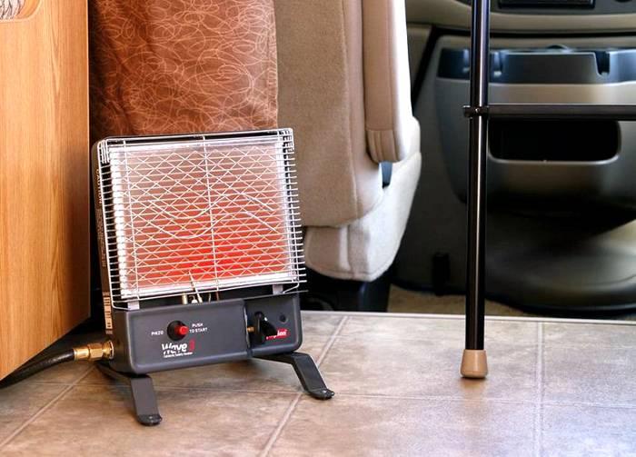 Удобный и небольшой вариант источника тепла