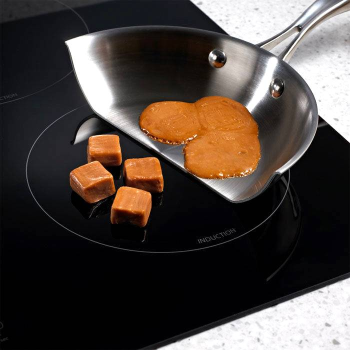 Без посуды не нагревается