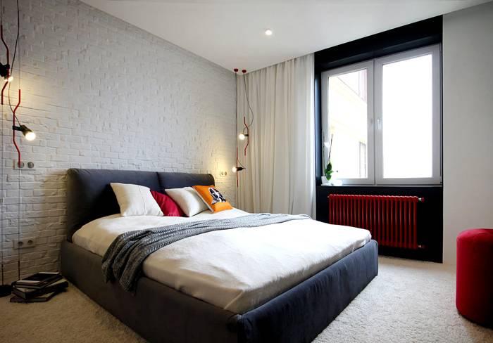 Простота и изысканность спальни