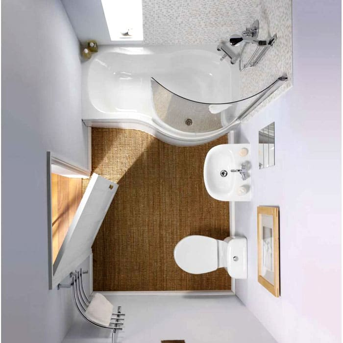 От правильной планировки маленькой ванной комнаты зависит наш комфорт