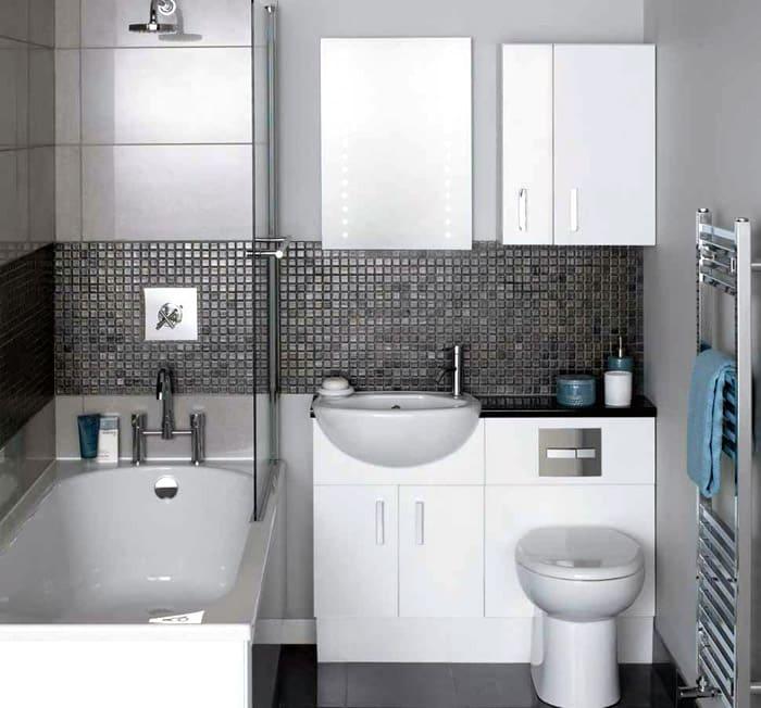 Для маленькой ванной множество прекрасных дизайнов, убедиться в этом можно, посмотрев кучу фото
