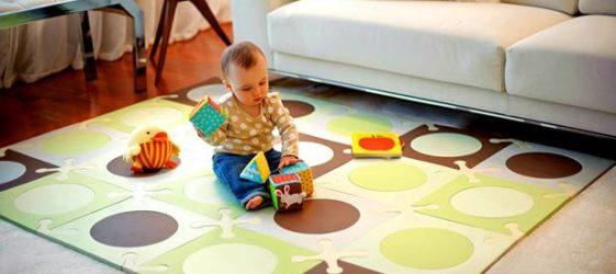 Мягкий пол для детской комнаты