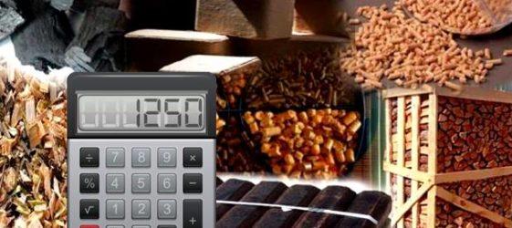 Калькулятор расчета расхода твердого топлива для печей