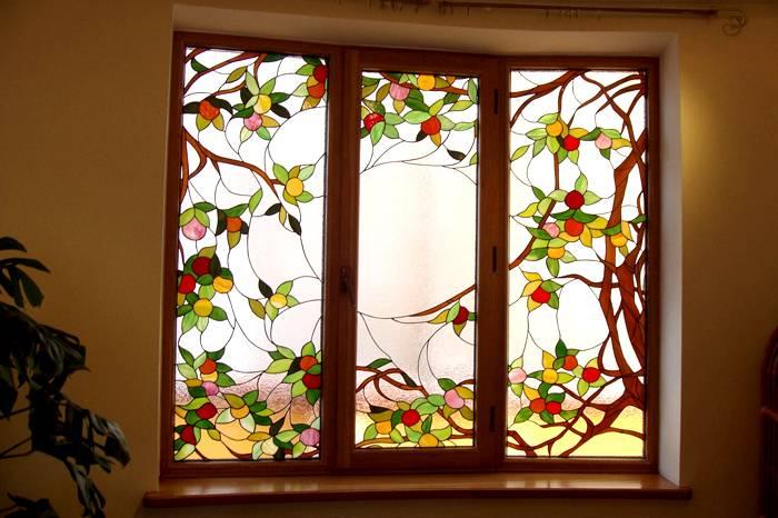Декор под элементы мозаики