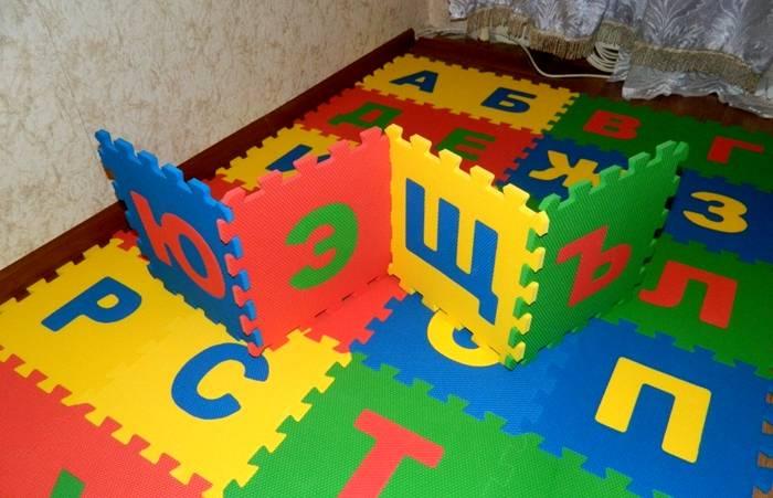 Учим алфавит и собираем кубики