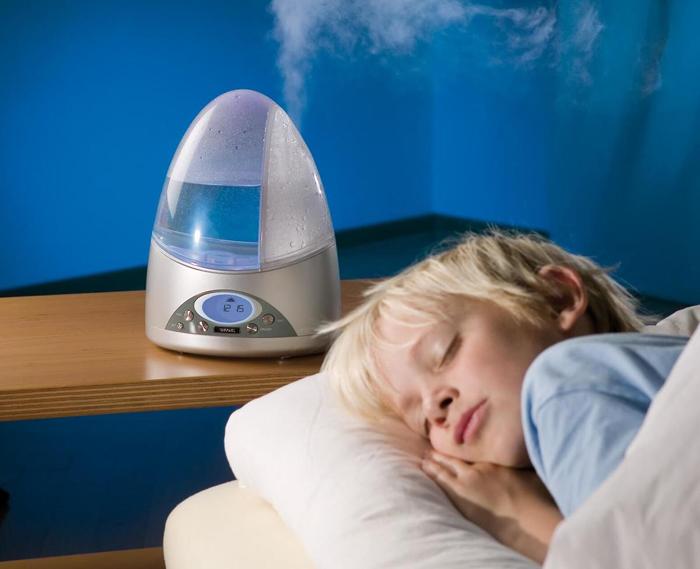 Устройство для увлажнения воздуха с таймером