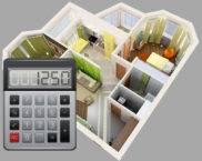 Калькулятор расчета площади четырехугольного помещения