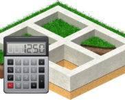Калькулятор расчета количества раствора для ленточного фундамента