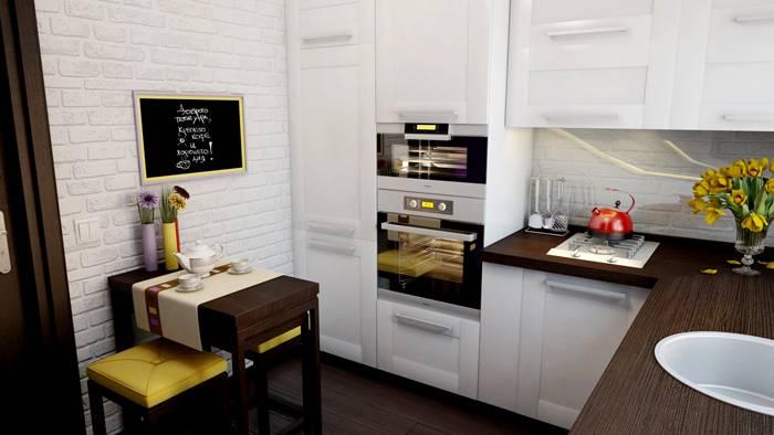 Встроенная модель в кухонный гарнитур