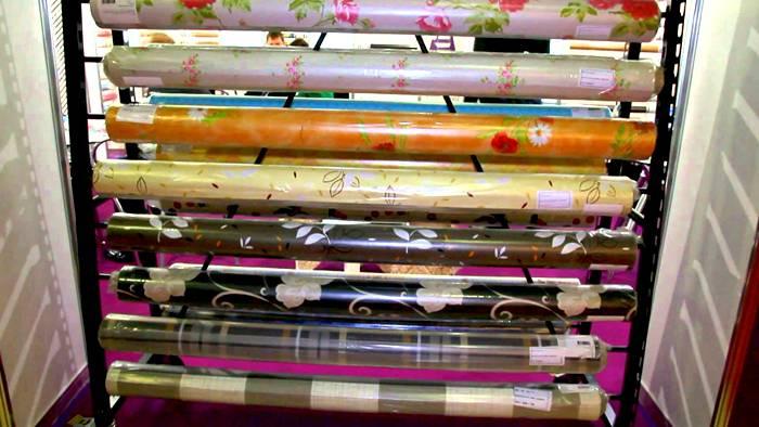 Разнообразие цветов самоклейки