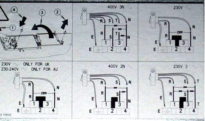 Инструкция изготовителя по самостоятельному подключению прибора