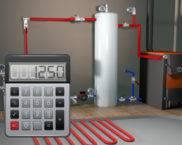 Калькулятор расчета общего объема отопительной системы