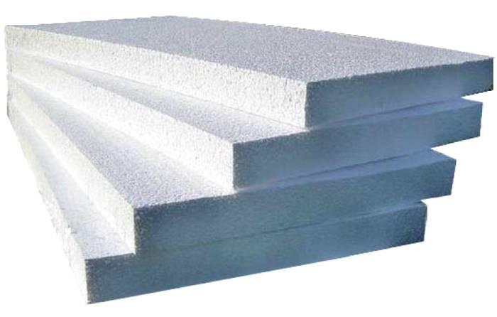 Теплоизоляционные качества пенополистирола зависят от его плотности