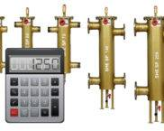 Калькулятор расчета гидрострелки с учетом насосного оборудования