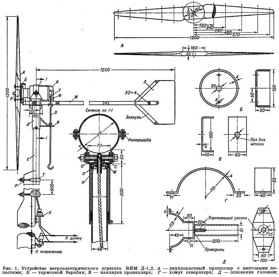 Конструкция ветряка своими руками фото 399
