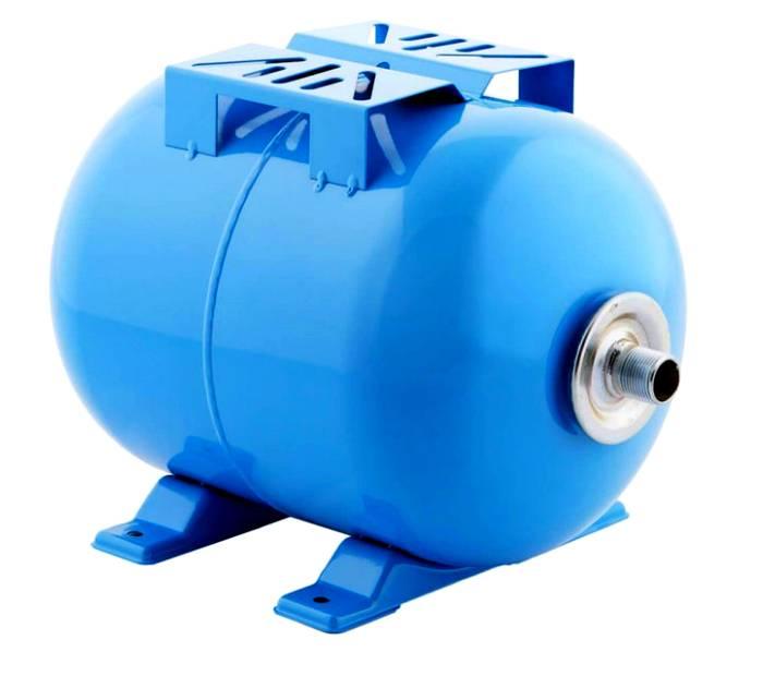 Плоская площадка на гидроаккумуляторе предназначена для установки на нее насоса, помогает оптимизировать расположение гидро─узла