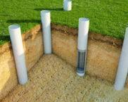 Свайный фундамент: расчёт количества свай