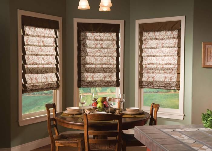 12-1 Римские шторы – как устроены римские занавески и их разновидности