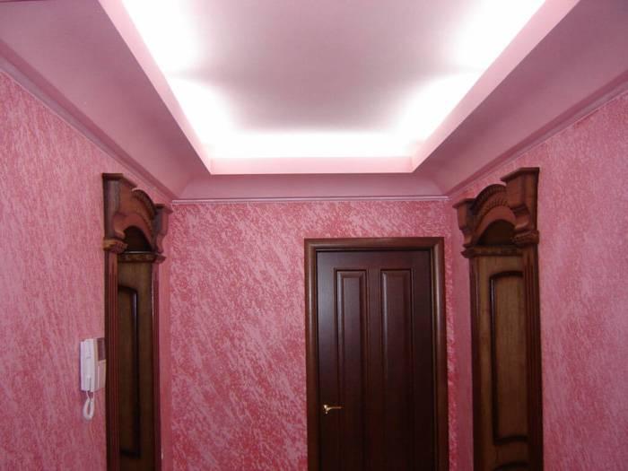 Интересный оттенок розового