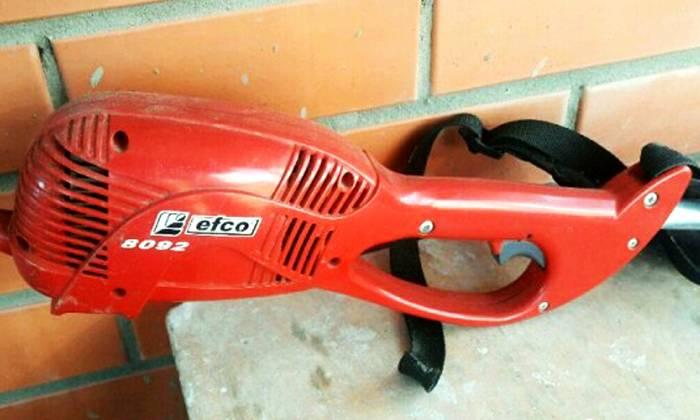 Итальянские разработчики сделали ее очень компактной, коса легко помещается в багажник легкового автомобиля