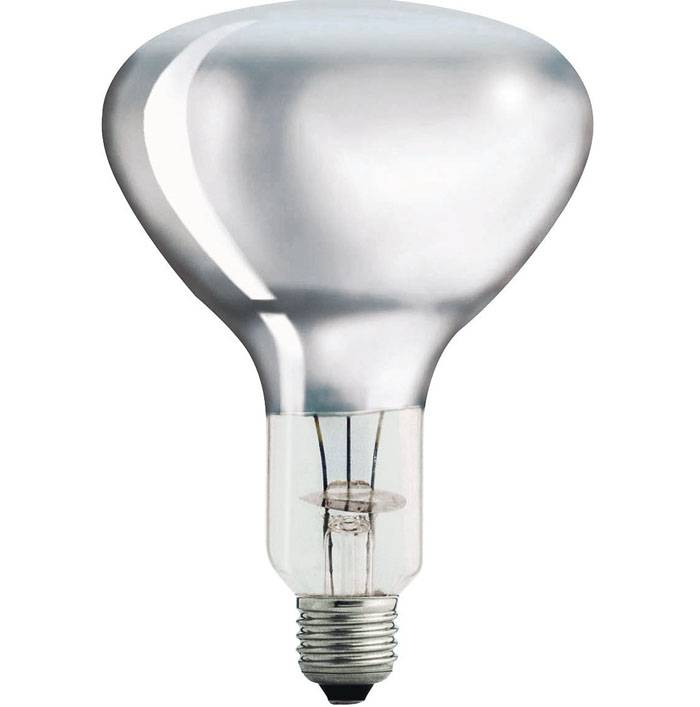 Прозрачная ИК лампочка