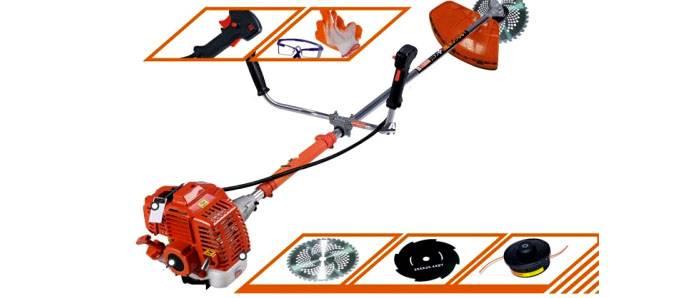 Бытовые конструкции также комплектуются различными насадками и специальными средствами защиты