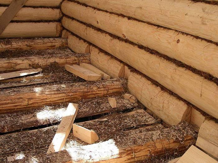Возведение из древесины