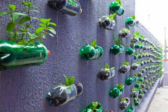 Отдельные домики для зелени