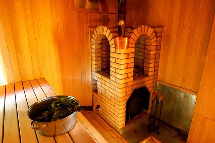 Внутреннее оснащение для бани