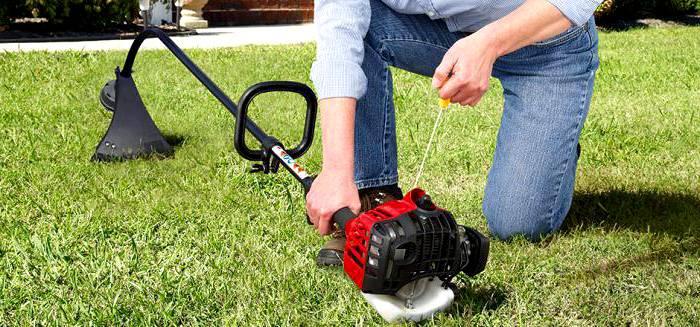Для ремонта подобной садовой техники не требуется сложных инструментов и материалов