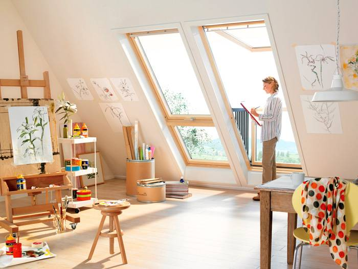 Если сомневаетесь в целесообразности организации жилой комнат в этом месте, подумайте об альтернативных вариантах