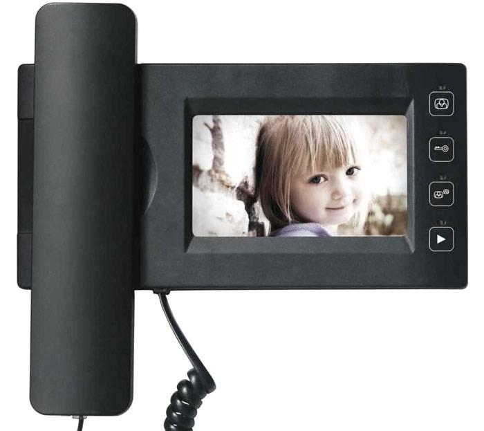 Модель видеодомофона с трубкой