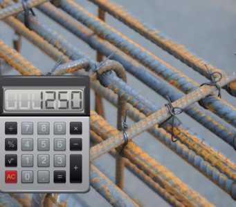 Калькулятор расчета количества вязальной проволоки