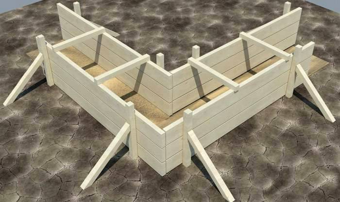 Толщина термической конструкции (шаг между стойками, высота конструкции)