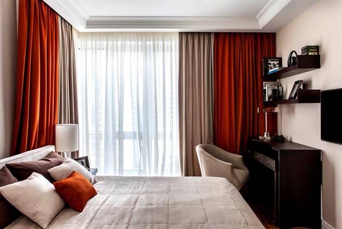 Компактное размещение для спальни 12 метров